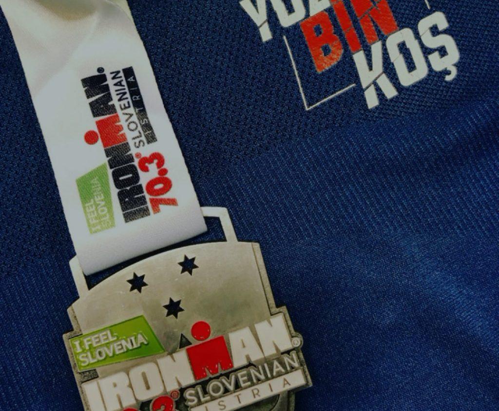 Orkun Süer - YüzBinKoş Spor Kulübü Slovenya Ironman 2019 Yarış Raporu