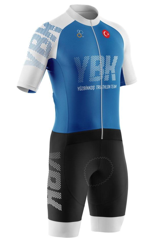 YBK Spor Kulübü Mavi/Beyaz Jersey Tasarımı